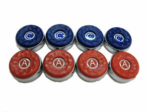 8 AMERICAN TABLE SHUFFLEBOARD PUCK REPLACEMENT WEIGHTS LARGE 2 5/16 +RULEBOOKLET