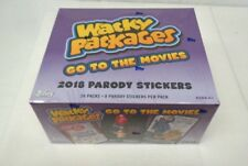 Wacky Packages 2018 Parody Stickers Go To The Movies 24 Sealed Packs 8 Stickers*