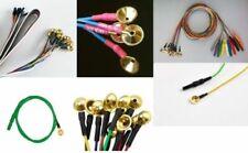 New Gold Cup Electrode EEG ECG EKG EP BERA ABR Neuro Diagnostic 20 electrodes