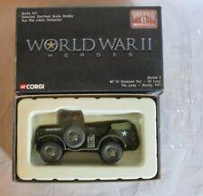 CORGI WW2 HEROES US WC56 COMMAND CAR 7TH ARMY SICILY 1943 1/43 #CC51708