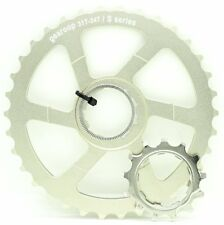 Gearoop Cog Unit 31T+34T w/ CS-5800 13T Cog for Modifying Shimano 11S Cassette