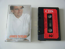 JAMES TAYLOR THAT'S WHY I'M HERE CASSETTE TAPE 1985 RED PAPER LABEL + INSERT CBS