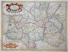 MERCATOR HONDIUS FRANKREICH AQUITANIA AUSTRALIS AUVERGNE PROVENCE LANGUEDOC 1631