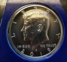 2019-P KENNEDY HALF DOLLAR UNCIRCULATED IN MINT SET HOLDER - SHIPS FREE IN USA