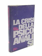 Erich Fromm - LA CRISI DELLA PSICOANALISI - 1971, Mondadori