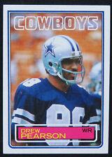 1983 Topps Set Break Drew Pearson Dallas Cowboys #51 Football Card MINT