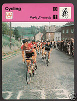 WALTER GODEFROOT Paris-Brussels Race Cycling 1978 SPORTSCASTER CARD 23-06