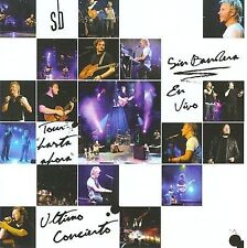 Tour Hasta Ahora - Sin Bandera CD Vivo Sealed New Live