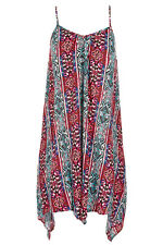 Stunning Ladies Hanky Hem Midi Dress Size 14-16 (one size) Free Post