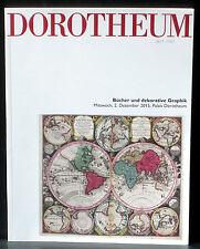 Catalogue Dorotheum, 2 décembre 2015 Livres Bücher und dekorative Graphik NM -
