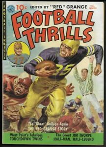 1951 Ziff-Davis Football Thrills #1 Red Grange VG/F 5.0