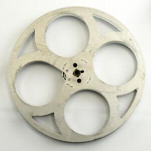 Vintage Cyldon 400ft Metal Take Up Projection Reel for 9.5mm Film
