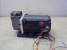 ADI DIA-VAC PUMP R221-FT-EA1 WITH GE MOTOR 5KC36PNB210JX HP 1/6  USED