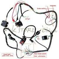 loncin 250 atv wiring diagram quad wiring harness 200 250cc chinese electric start loncin  quad wiring harness 200 250cc chinese