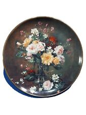 Franklin Mint Albert Williams Flower Bouquet Numbered Collector's Plates