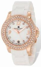 Ladies Charles Hubert White Ceramic 40mm Watch