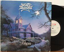 """King Diamond LP """"Them"""" ~ Roadracer 9550 ~ Orig 1988 ~ VG++"""