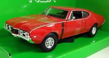 Nex models 1/24 Scale 24024W 1968 Oldsmobile 442 Red Diecast model car