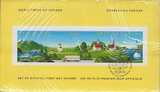 CANADA #1524 MAPLE TREES SEALED IN FOLDER FIRST DAY COVERS