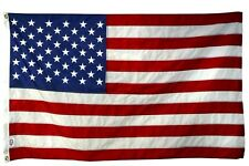 1 United States, Country Nylon 3' X 5' Foot Flag With 2 Grommets
