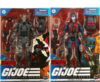 "GI Joe Classified Series 6"" Special Missions Cobra Island Firefly Cobra Viper 2P"
