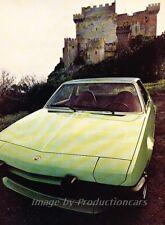 1973 Fiat X19 X1/9 Road Test Original Car Review Report Print Article J844