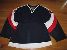 Authentic CCM USA OLYMPIC No. 27 ICE HOCKEY (Size 50) Jersey w/ Fighting Strap