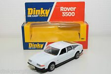 DINKY TOYS 180 ROVER 3500 WHITE MINT BOXED