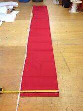"Sausage Style Sail Bag Dacron (3.5m) 11.5 ft x 12.5"" Diam RED"