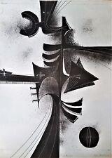 Cuban Art.Lithography by Rolando Lopez Dirube.Figura No. 1,1955. original signed