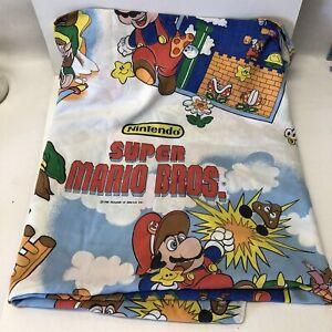 1988 Nintendo Of America Inc Zelda Mario Bros Twin Bed Flat Sheet Great
