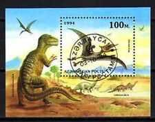 Animaux préhistoriques Azerbaidjan (3) bloc oblitéré