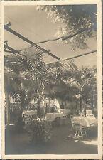 Südtirol-Merano, Giardino delle palme., Ristorante Hotel Posta, Foto-Ak von 1930