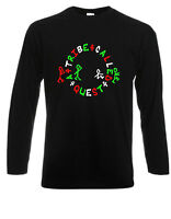 New A TRIBE CALLED QUEST Logo Rap Hip Hop Long Sleeve Black T-Shirt Size S-3XL