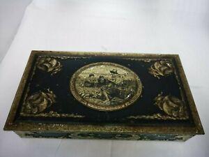 Abdulla & Co Vintage tobacco/cigar/cigarette tin Walter Raleigh. Used condition