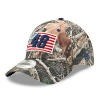 Jimmie Johnson New Era Flag 9FORTY Adjustable Hat - Camo