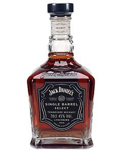 Jack Daniel's Single Barrel Select Tennessee Whiskey 700mL Whisky bottle