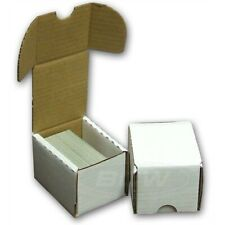 More details for trading card storage box holds 100 cards - 5 box pack