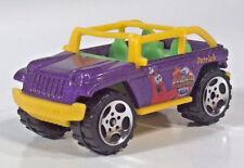 "Matchbox Sponge Bob Squarepants Jeep Willys 2.5"" Scale Model Purple Patrick"