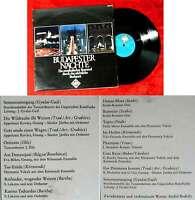 LP Budapester Nächte - ein musikalischer Bummel durch das nächtliche Budapest
