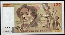 DELACROIX ; 100 Francs,émis en 1995;alpha:S.295;FAY 69ter/2c;SPL+/SUITE POSSIBLE