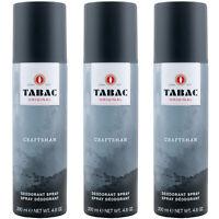 Tabac ORIGINAL CRAFTSMAN Deo 3 x 200 ml Deodorant Spray for man