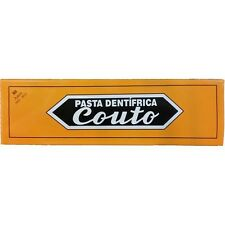 Couto Toothpaste Medicinal - 2 Toothpaste Prevents Caries Fights Gengivitis 2 un
