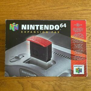 Memory Expansion Pak - CIB - Nintendo 64 - Excellent Etat