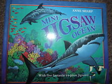 MINI JIGSAW OCEAN - ANN SHARP - UNUSED - 5 FANTASTIC 21-PIECE JIGSAWS