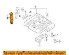 VW VOLKSWAGEN OEM 06-08 Jetta Air Cleaner Intake-Hose Duct Tube Pipe 06F129627G