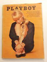Vintage Playboy Magazine October 1966 Centerfold Intact Linda Moon