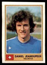 Panini Euro Football 77 - Daniel Jeandupeux Helvetia No. 122