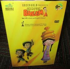 CHHOTA BHEEM VOLUME 19 ANIMATED DVD, AS SEEN ON POGO, IN HINDI & ENGLISH, GUC