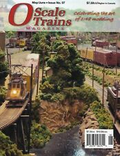 O SCALE TRAINS Magazine - May/June 2018 - (Brand NEW Magazine issue)